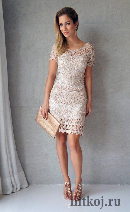molde para hacer un vestido sencillo a crochet (3)
