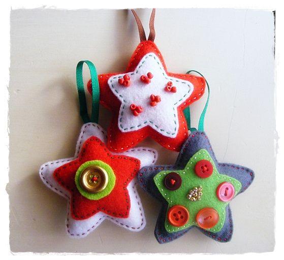moldes de estrellas navidad en fieltro08