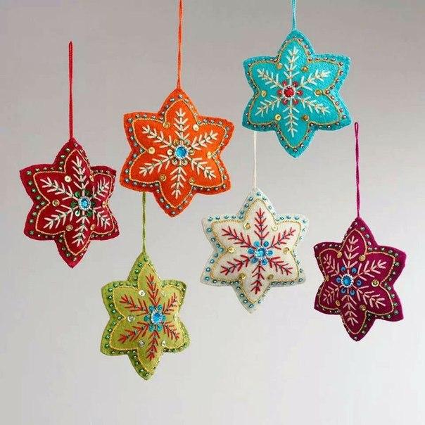 moldes de estrellas navidad en fieltro09