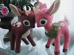 moldes de renos navideños (7)