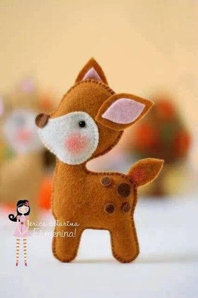 moldes de renos navideños (8)