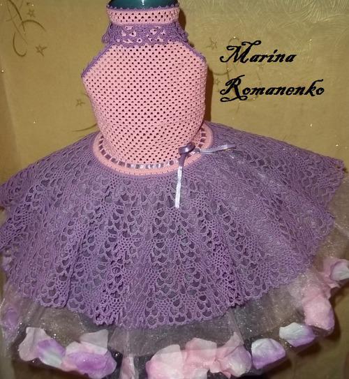 moldes de vestidos a crochet para niña (2)