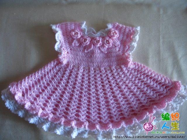 moldes de vestidos a crochet para niña (6)