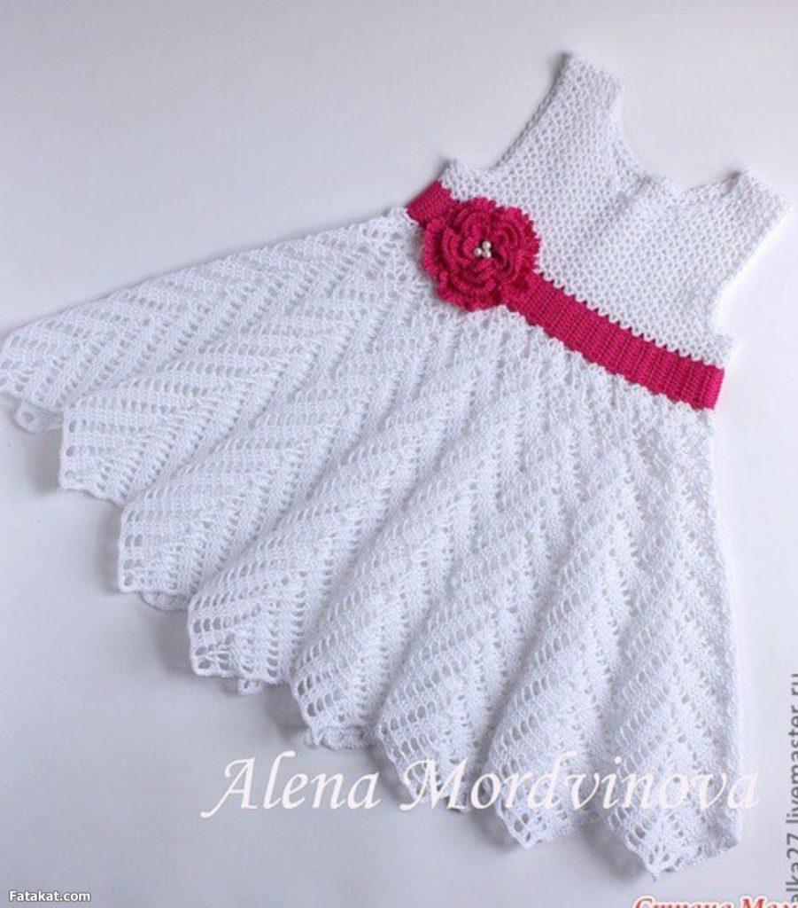 moldes de vestidos a crochet para niña (7)