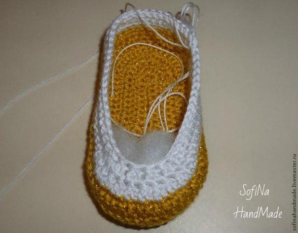 zapatitos crochet 2 colores paso a paso (3)