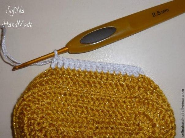 zapatitos crochet 2 colores paso a paso (5)