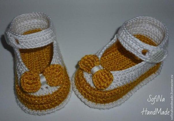 zapatitos crochet 2 colores paso a paso (6)