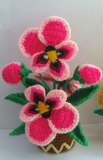 Flores a crochet ideas y ganchillo01