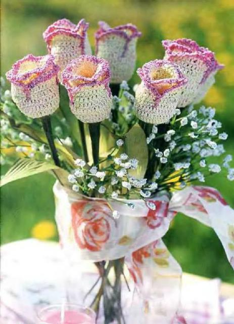 Flores a crochet ideas y ganchillo03