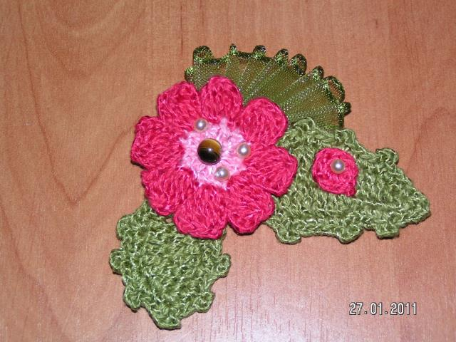 Flores a crochet ideas y ganchillo06