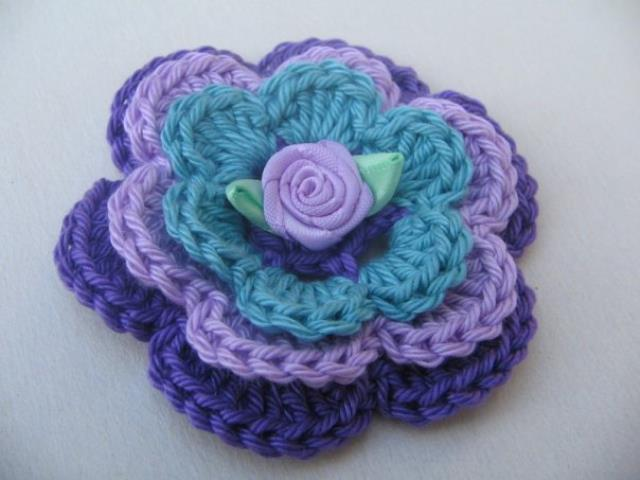 Flores a crochet ideas y ganchillo07