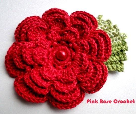 Flores a crochet patrones06