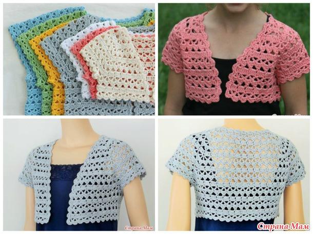 bolero en crochet patrones01