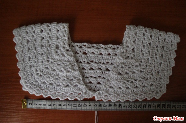 bolero en crochet patrones16