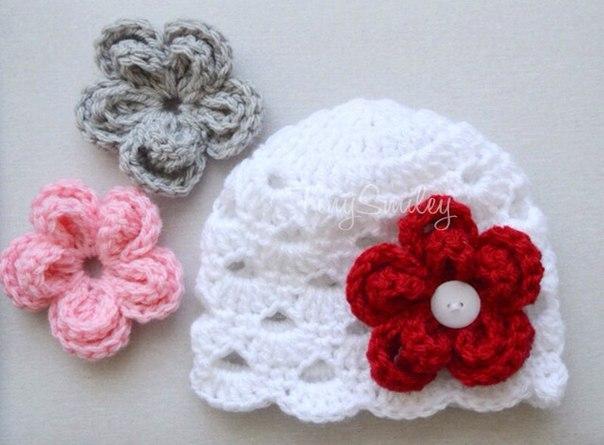 gorro crochet niña idea