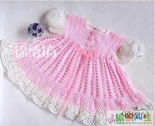 Easy Crochet Baby Afghan Free Patterns : vestidos para bebe a ganchillo patrones