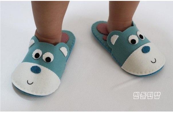 Como Hacer Zapatillas para Niños con Moldes03