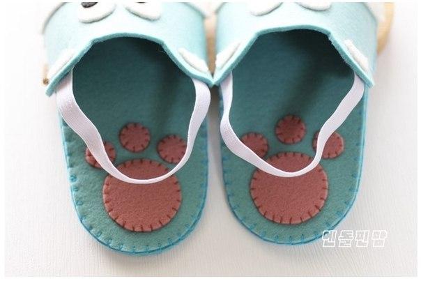 Como Hacer Zapatillas para Niños con Moldes04