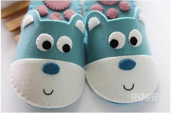 Como Hacer Zapatillas para Niños con Moldes05