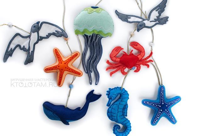 Modelos para hacer animales marinos con fieltro01