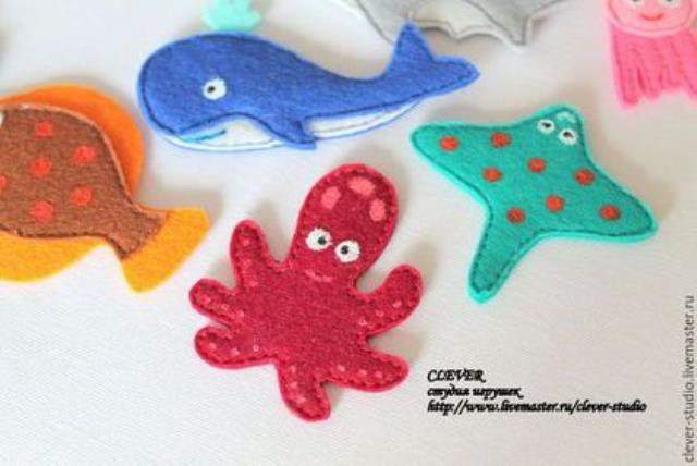 Modelos para hacer animales marinos con fieltro04