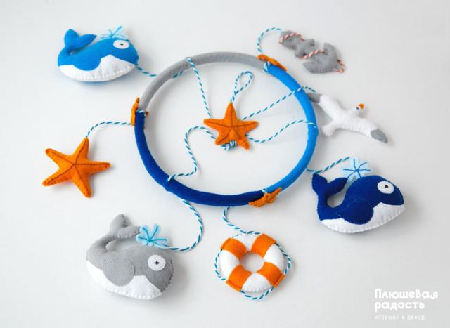 Modelos para hacer animales marinos con fieltro05