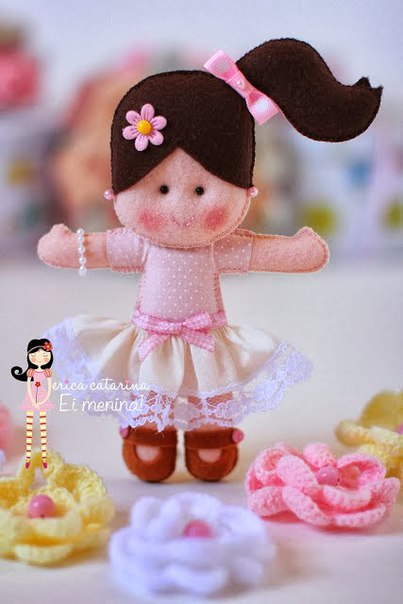 Molde para hacer muñecas de fieltro06