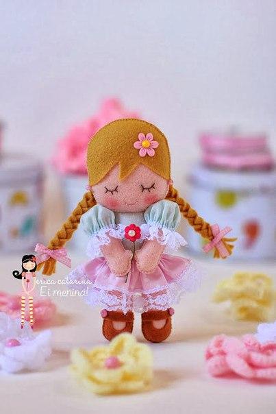 Molde para hacer muñecas de fieltro08