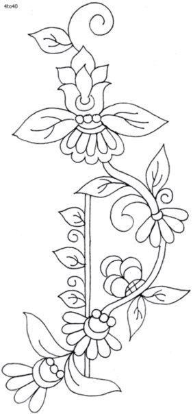Plantillas de flores01