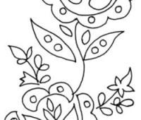 9 Plantillas de flores para descargar e imprimir