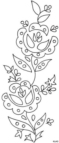 Plantillas de flores02