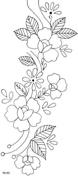Plantillas de flores04
