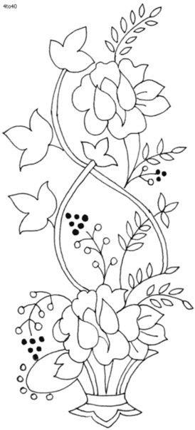 Plantillas de flores08