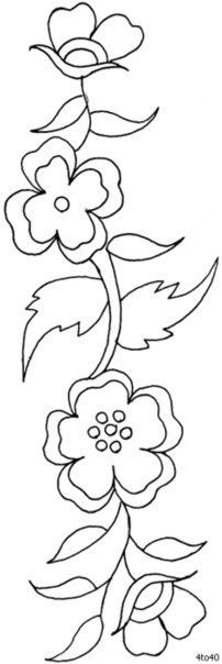 Plantillas de flores09