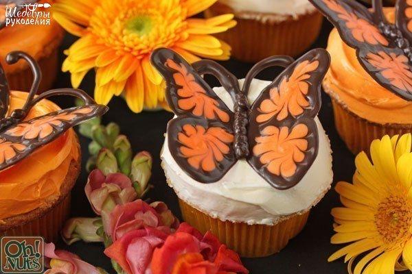 como hacer una mariposa de chocolate01
