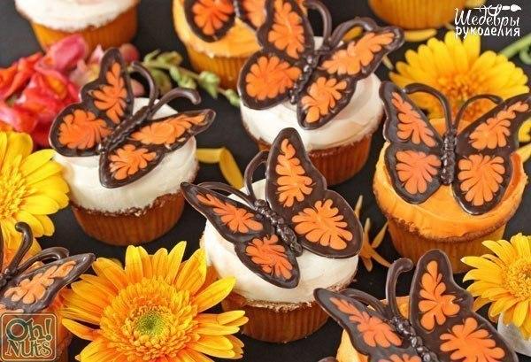 como hacer una mariposa de chocolate010