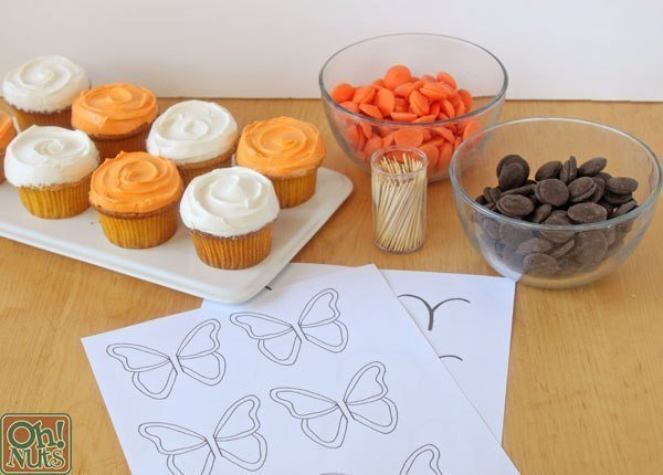 como hacer una mariposa de chocolate02