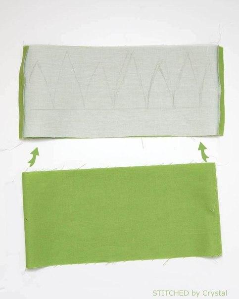 hacer una bolsa con forma de piña04