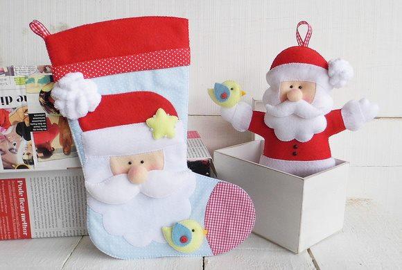 moldes para hacer botas de fieltro decoradas05