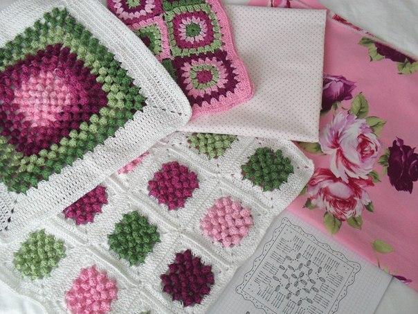 moldes para hacer una decoracion a crochet para almohadas y una manta03
