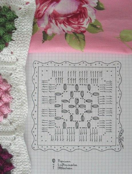 moldes para hacer una decoracion a crochet para almohadas y una manta07
