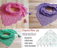 modelos para hacer bufandas a crochet