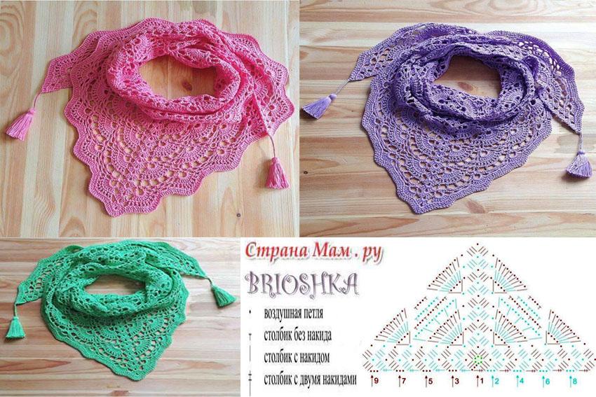 patro bufandas coloridas