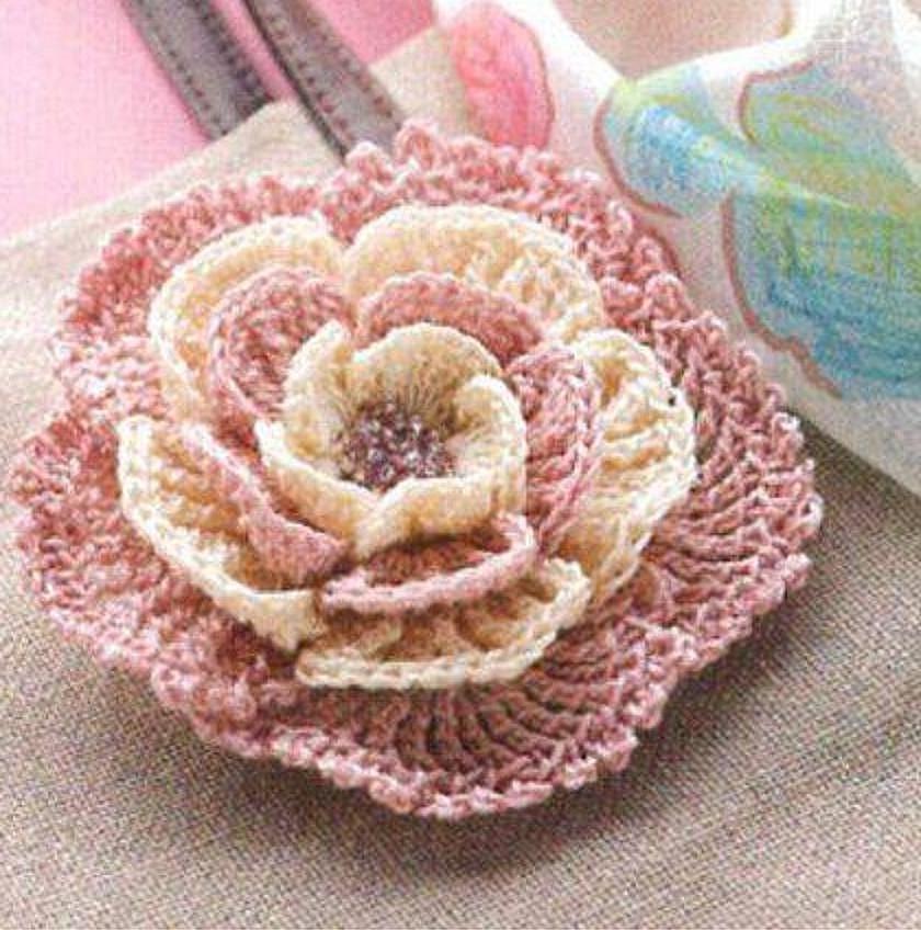 6 moldes para hacer flores a ganchillo faciles