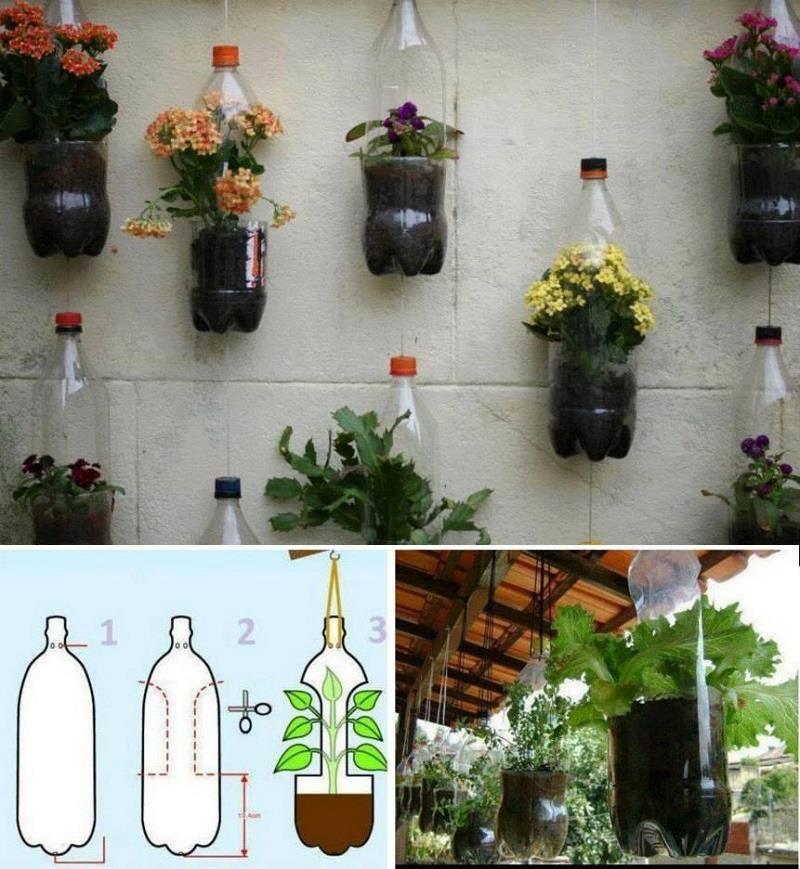 23 Creativas Formas De Volver A Utilizar Las Botellas De Plástico09