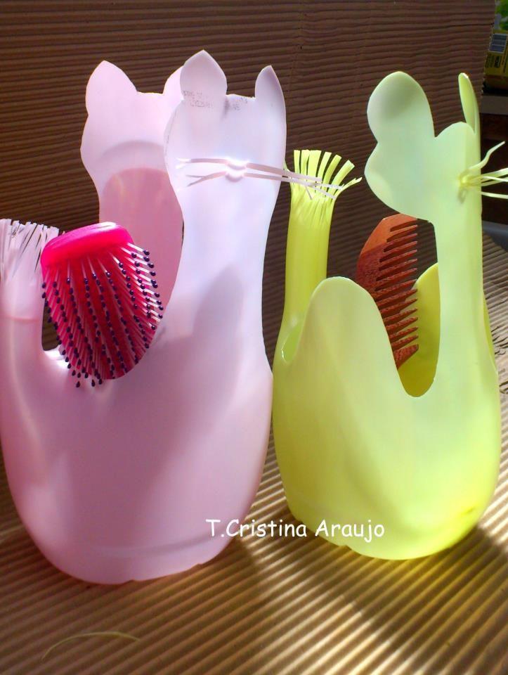 23 Creativas Formas De Volver A Utilizar Las Botellas De Plástico11
