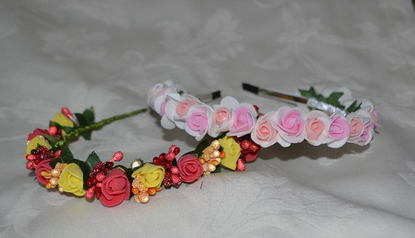 Bonitos tocados con flores para 15 años (2)