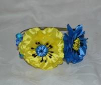 Bonitos tocados con flores para 15 años