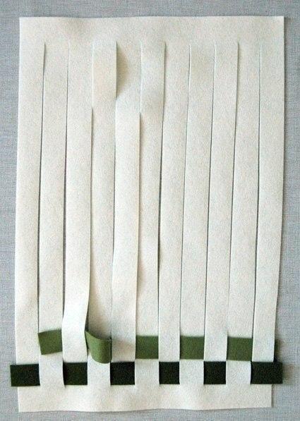 Como hacer un mantel individual con fieltro (3)