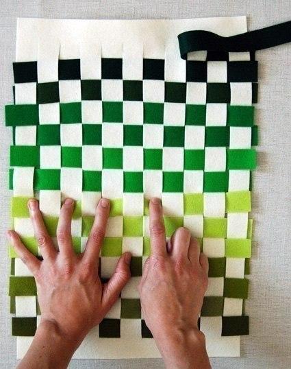 Como hacer un mantel individual con fieltro (4)